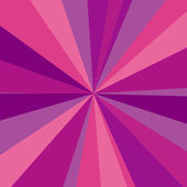 Purple, red and pink rays background. Vector illustration for your bright beams design — Stock Vector