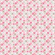 Floral vector seamless pattern. Red, pink, gray, brown and white — Stock Vector #57949785