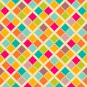 Retro colorful seamless pattern. Vector illustration — Stock Vector