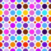 Colorful star seamless pattern. Vector illustration — Stock vektor