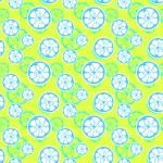 Abstract citrus fruit seamless pattern. Vector illustration — Stock Vector #62818039