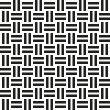 Abstract wicker seamless pattern. Vector illustration for retro — Stock Vector #64101323