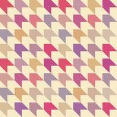 Abstract retro seamless pattern. Vector illustration — Stock Vector