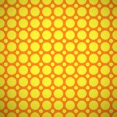 Baby different vector seamless pattern. Orange and yellow colors — Vettoriale Stock