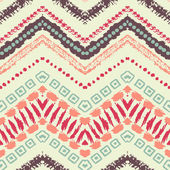Hand drawn painted seamless pattern. Vector illustration — Vector de stock