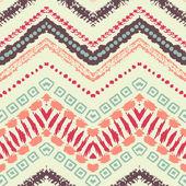 Hand drawn painted seamless pattern. Vector illustration — Vetor de Stock