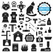 Great set of icons about Lovely Cat. Vector illustration for pet — Stock Vector #81685414