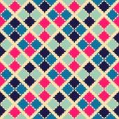 Retro beauty seamless pattern.  illustration — Foto Stock