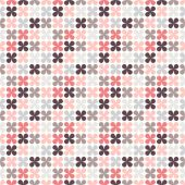 Cute retro abstract floral seamless pattern.  illustration — Stock Photo