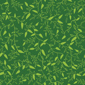 Floral seamless pattern with leaves.  illustration — Stock Photo
