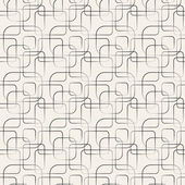 Abstract geometric line and square seamless pattern. — Stock Photo
