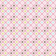 Funny abstract geometric bright seamless pattern — Stock Photo #83451894