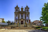 Well Known Iglesia de San Ildefonso Church, Porto — Stock Photo
