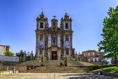Well Known Iglesia de San Ildefonso Church, Porto — Stock Photo