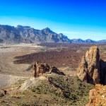 Volcanic Landscape of El Teide on Tenerife Island — Stock Photo #64739855