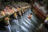 Tirta Empul holy water — Stock Photo