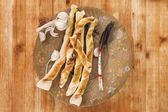Pizza breadstick. — Fotografia Stock
