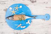 Delicious fresh mackerel fish. — Stock Photo