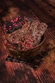 Luxurious chocolate. — Stockfoto