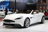 White Aston Martin series Vanquish — Stock Photo