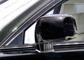Espejos de Rolls Royce negro — Foto de Stock