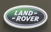 Logo of Land Rover — Stock Photo