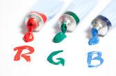 RGB colours — Stock Photo
