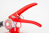Pin of fire extinguisher — Stock Photo