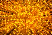 Abstract defocused gold lights background — Stock Photo