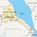 Постер, плакат: Eritrea Political Map