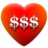 Heart Money — Vecteur