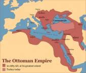 La Turquie ottomane — Vecteur