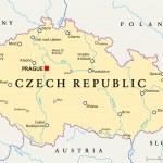 Czech Republic Political Map — Stock Vector #65470141