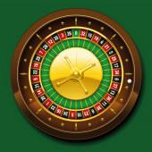 Roulette Wheel French Number Sequence — Stock Vector