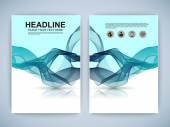 Set of Flyer, Brochure Design Templates. — Stockvektor