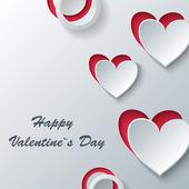 Tarjeta de felicitación de amor. — Vector de stock