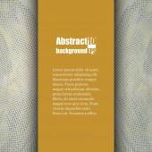 Modello opuscolo con sfondo astratto. — Vettoriale Stock