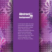 Brochure sjabloon met abstracte achtergrond. — Stockvector