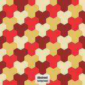 幾何学的パターンと抽象的な背景. — ストックベクタ