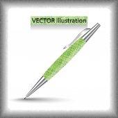 Vector corporate pen design — Stock Vector