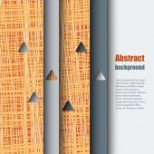 Шаблон брошюру с абстрактный фон. — Cтоковый вектор
