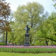 Monument to Russian poet Zhukovsky, St. Petersburg, Russia. — Stock Photo #65701339