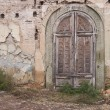 Doorway and old facade on a street in Old Tbilisi, Georgia. — Stock Photo #70599619