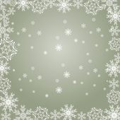 Snowflakes gray — Stock Vector
