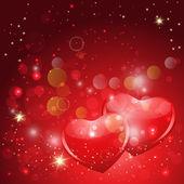 Loving hearts — Stock Vector