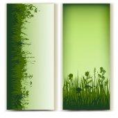 Tarjeta de hierbas — Vector de stock