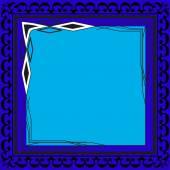 Foto frames kleur voor uw webdesign. — Stockvector