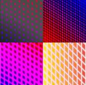 Set of splash color abstract  glowing  background. EPS10. Vector — ストックベクタ