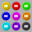 Dj console mix handles and buttons icon symbol. Trendy, modern design with space for your text Vector — Stock Vector #55968177