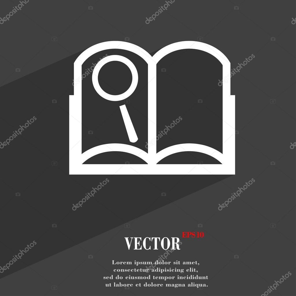 Open Book Icon Open Book Icon Symbol Flat